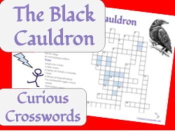 The Black Cauldron- Worksheet