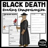 The Black Death Reading Comprehension, Middle Ages, Bubonic Plague