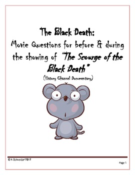 "The Black Death: Movie Questions for ""The Scourge of the Black Death"""