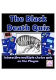 The Black Death Plague Multiple choice history quiz on PowerPoint