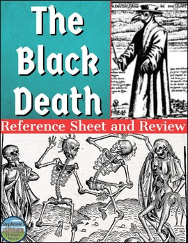 The Black Death/Plague Reference Sheet and Review
