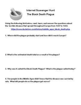 what were the results of the black death
