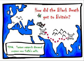 The Black Death interactive animation and quiz
