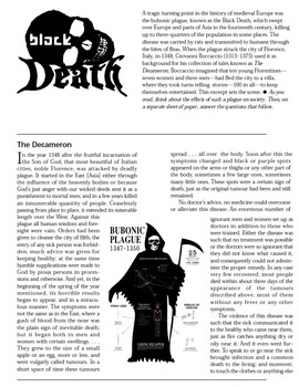 The Black Death mini unit