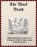 The Black Death test