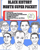The Black History Month Super Packet (2 Projects, Close Reading, and more)