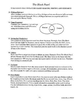 The Black Pearl Literature Activity Guide