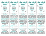 The Black Pearl edition of Bookmarks Plus—Fun Freebie/Handy Little Reading Aid!