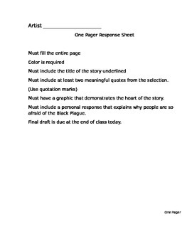 The Black Plague - Read 180 rBook  (Workshop 2) English 1 Supplement