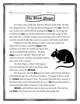 The Black Plague/The Black Death/The Bubonic Plague