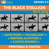The Black Stallion Novel Unit