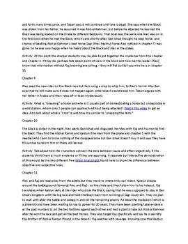 The Black Stallion Returns Chapter summaries and activity guide