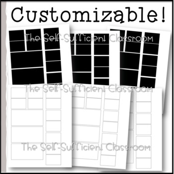 The Black and White Theme Teacher Toolbox Labels (33 piece EDITABLE set)