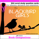 The Blackbird Girls Novel Study Question Cards for Classro