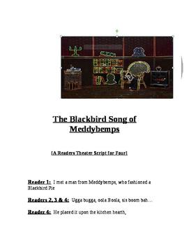 """The Blackbird Song of Meddybemps, A Readers Theater Script"" New Book Trailer"
