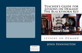The Blackthorn Key Kevin Sands Teacher's Guide and Novel Study