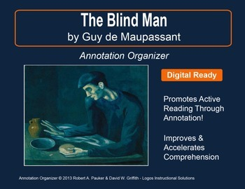 """""""The Blind Man"""" by Guy de Maupassant: Annotation Organizer"""