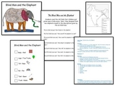 The Blind Men and the Elephant Lesson Plan and Art Project