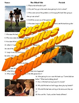 The Blind Side Movie Guide & Key