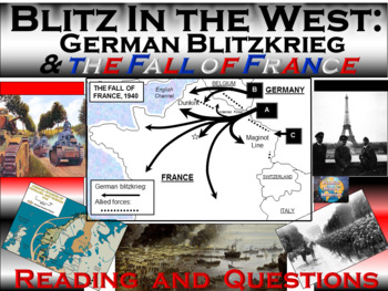 The Blitz In the West: German Blitzkrieg and the Fall of France (1940)