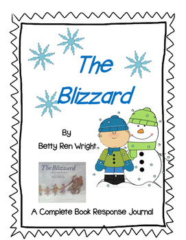 The Blizzard by Betty Ren Wright-A Complete Book study