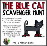 The Blue Cat Scavenger Hunt