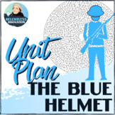 ⭐The Blue Helmet William Bell 4 Week Novel Study Unit Plan with Final Project