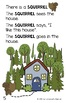 The Blue House - A printable storybook for early readers