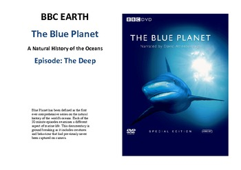 The Blue Planet - The Deep Documentary - Adaptations Including Bioluminescence