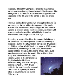 The Blue Star Prophecy of the Hopi