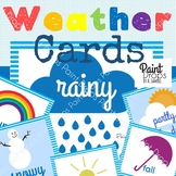 Weather & Season Cards Pack {Classroom Decor}
