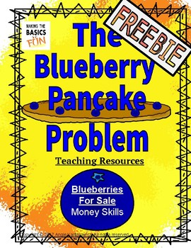 The Blueberry Pancake Problem- Blueberries for Sale