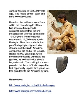 The Bluefish Caves and the Ancestors of the Pre-Clovis Peoples