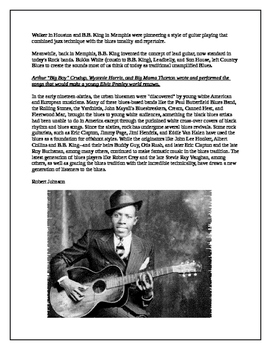 Music History-Origins of the Blues!