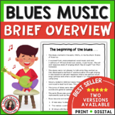 The Blues for Middle School Music Classes