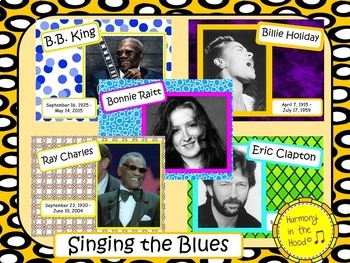 The Blues: Musicians in the Spotlight