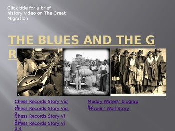 The Blues and The Great Migration