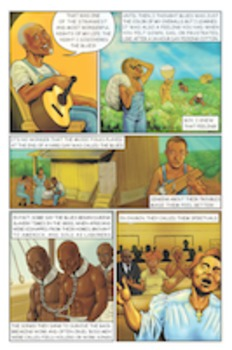 The Blues comic book 40-pack: exploring black history and American roots music