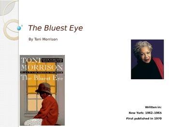 The Bluest Eye Lesson Plan Prolouge I & II