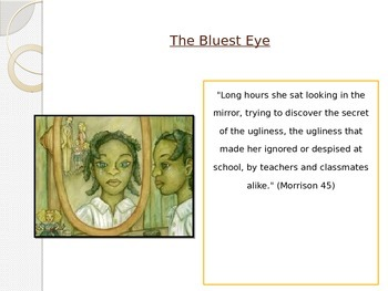 The Bluest Eye Lesson Plan pages 48-58