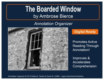 """The Boarded Window"" by Ambrose Bierce: Annotation Organizer"