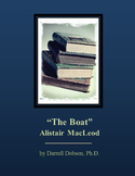 """""""The Boat"""" -- Alistair McLeod -- Canadian Short Story"""