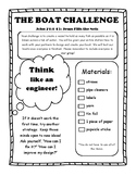 The Boat Challenge!