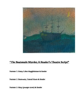 """""""The Boatswain Murders (A Readers Theater Script)"""" New Book Trailer"""
