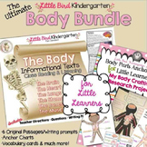 The Body Bundle for Little Learners Anchor Charts & Inform