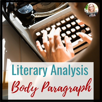 The Body Paragraph for Essay Writing-- Structure and Organization