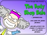 The Body Shop: Adding Decimals