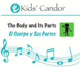 The Body and Its Parts | El Cuerpo y Sus Partes CD Bilingual Music