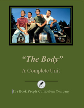 """The Body"" by Stephen King Complete Unit"