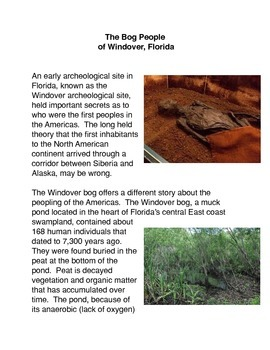 The Bog People of Windover, Florida